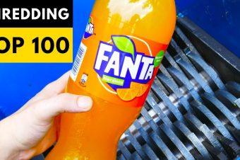 100 Gegenstände landen im Schredder