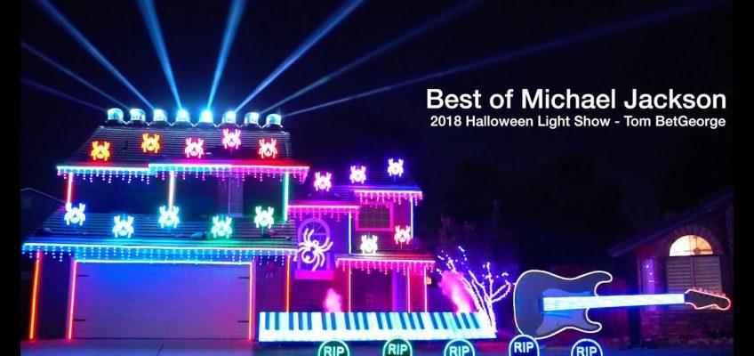 Halloween Light Show 2018
