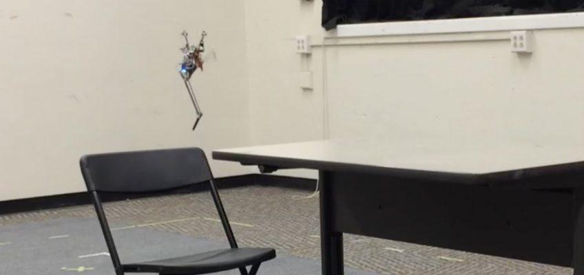Hüpfender Mini-Roboter