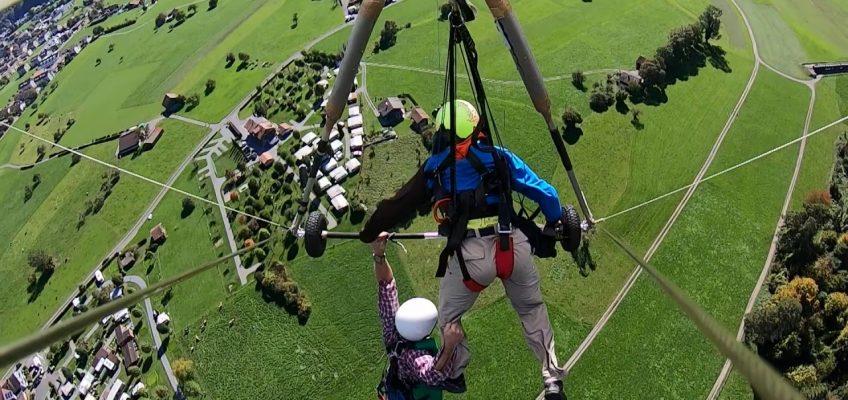Erster Drachenflug als Nahtoderfahrung