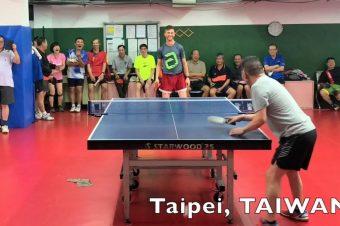Troll-Schlag beim Tischtennis