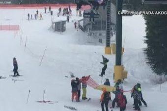 Jugendliche retten Kind aus einem Skilift