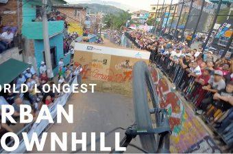 Der längste Urban Downhill der Welt