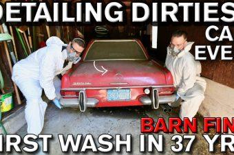Erste Wäsche nach 37 Jahren