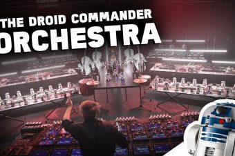 Lego Roboter Orchester