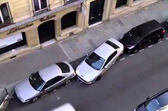 Gekonnt eingeparkt