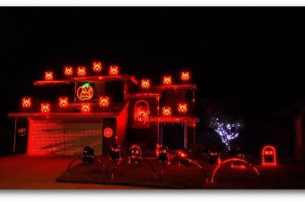 Halloween Light Show - Ghostbusters
