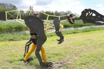 Mechanisches Dinosaurier-Kostüm