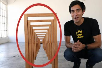 Optische Täuschungen mit Möbeln
