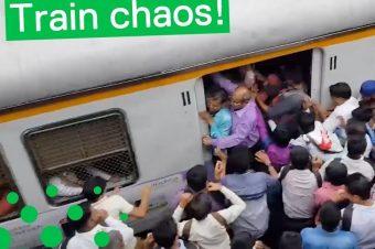 Bahnfahren in Indien
