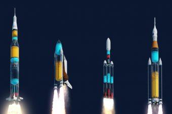 Transparente Raketen