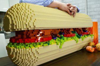 Ein Lego-Sandwich