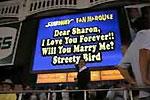 Willst du mich heiraten? - Streich