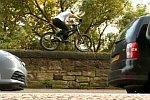 Danny MacAskill auf dem Mountainbike